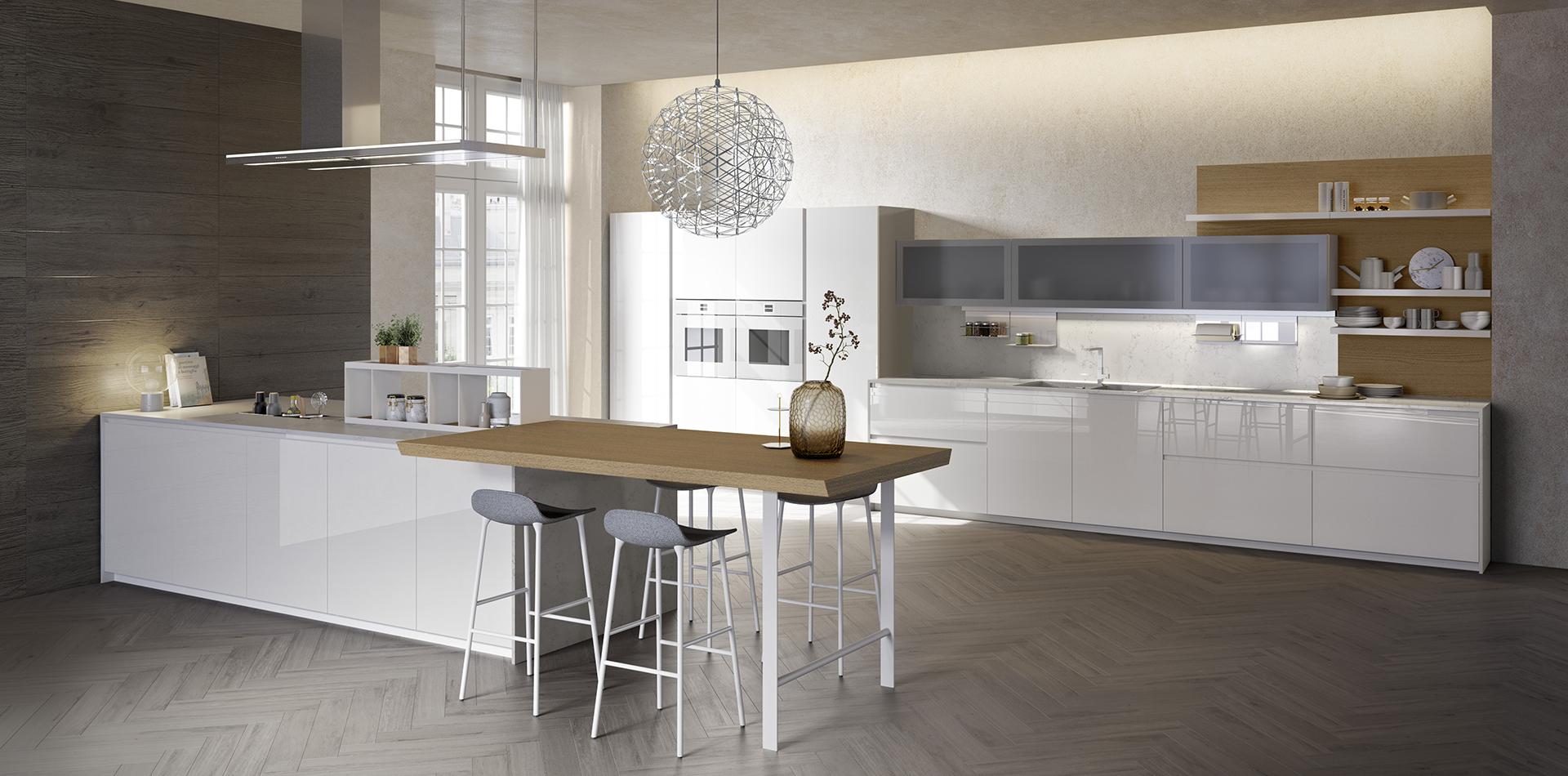 Kitchen peninsulas - Vettoretti